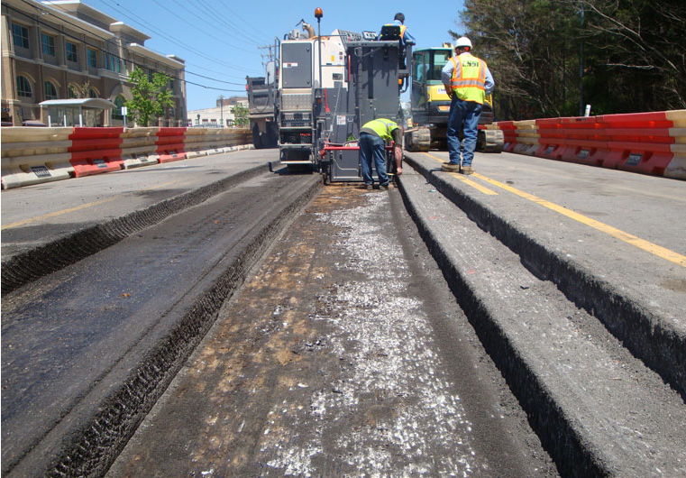Asphalt Milling Full Amp Partial Depth Asphalt Solutions